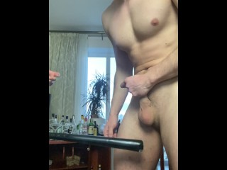 Gets his balls spanked check for more...