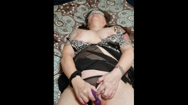 Sexy wife masterbating  before work 4