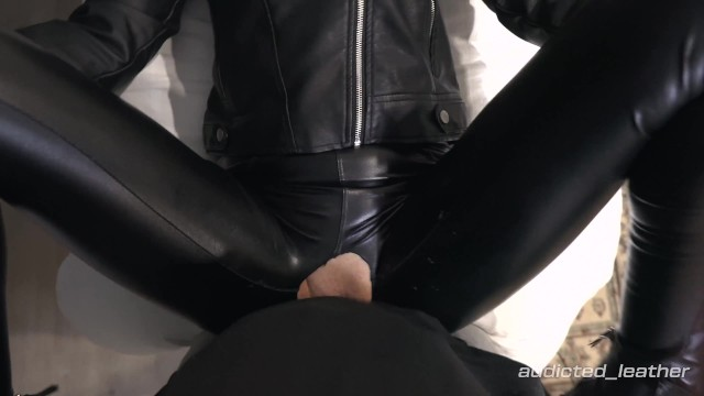 Fucked my girlfriend completely in leather