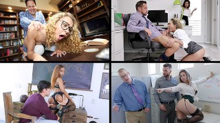 The Best Compilation Of Mouths On Duty - Office Sex Compilation