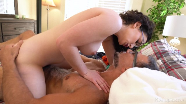 Nerdy College Girl Lyra Lockhart Gives Her Big Round Ass Up To Her Professor 12