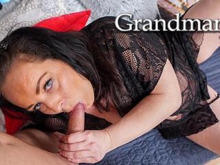 Granny feels young again...