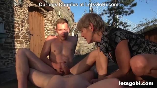 Granny Loves Bi Cocks at LetsGoBi