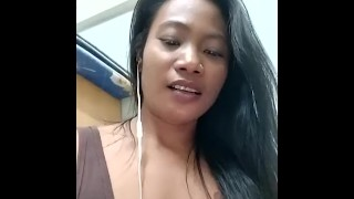 LIVE May sexy posing and flashing boobs in room
