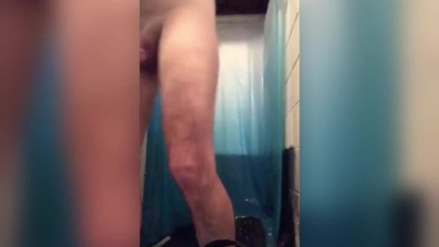 SHOWERING WITH AN ANAL HOOK IN MY BUTT 25