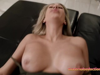 Step Mom is Horny and Wants to Fuck before her First Date – Nikki Brooks