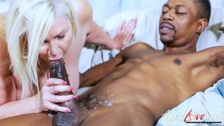 AGEDLOVE Horny Mature Lady Took Big Black Cock