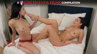 GirlfriendsFilms - Lesbian Foot Fetish Compilation