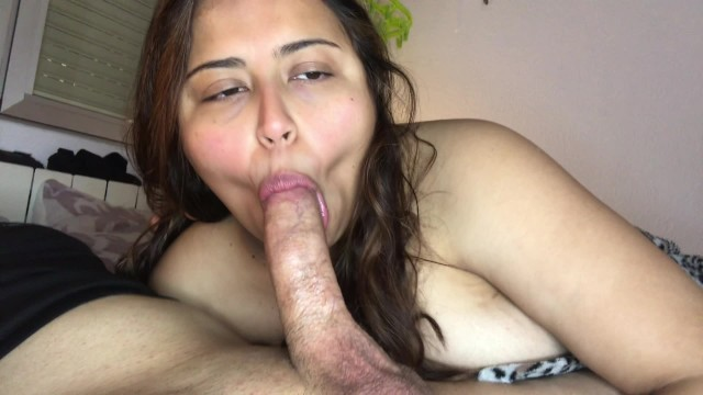 Morning blowjob to start the day with my real Spanish teacher 11