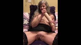 Mature Sexy MILF Pussy Play With Big Dildo Teaser (6+min vid OnlyFans)