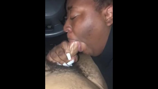 Nice BBC Dicksucking/Ballsucking worship ending with a tasty cumload in her mouth 7