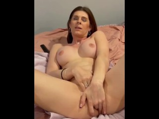 Pushing Cum Out Of My Ass