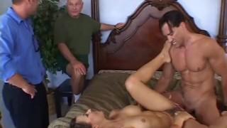 Hairy Italian Swinger Wife Fucks A Stranger Making Love
