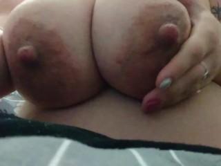 Perfect Giant Milky Milf Tits