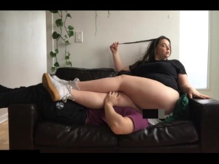 Human couch thick featuring goddess allie james episode...