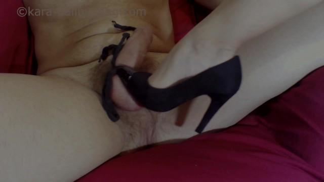 Tormenting Balls w Heels & Barefoot - by Goddess Kara OnlyFans - Ballbusting, Femdom CBT - D-0025 p2 3