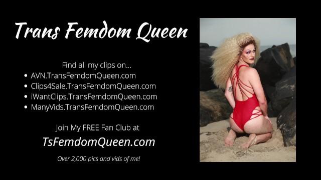 Dick Worship in Latex Catsuit ft Trans Femdom Queen 49