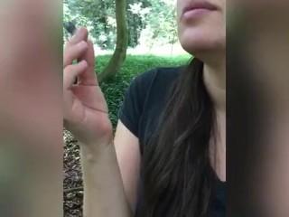 4:20 Fumamos marihuana,Sexo al aire libre y público en Parque Nacional