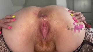 Hairy Asshole Closeup