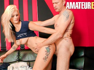 DeutschlandReport - Mia Bitch Big Tits German MILF Hardcore Pick Up And Fuck