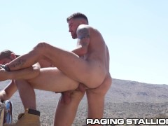 Chris Damned Pounds Some Jock Ass In The Desert - RagingStallion