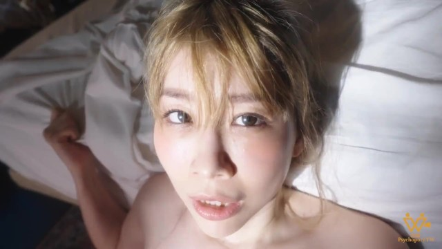 Asian girlfriend playing with her wet pussy during the Pandemic - PsychopornTW 色控 6K 15