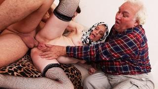 Rough Granny Anal