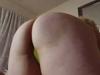 BBW PAWG Shakes Ass in Slow Motion