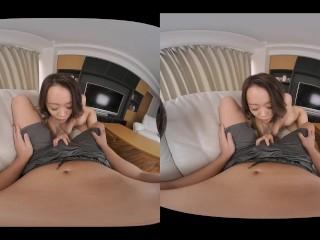 【無】[VR] 優柔不断なあなたの心をくすぐって焦らしてくる彼女 七瀬なな パート2