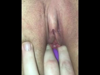 MOMMY MADE HER TIGHT VIRGIN PUSSY OOZE WITH CUM!!!!