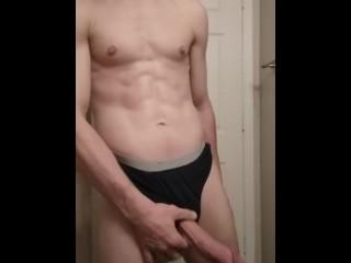 Pre shower...