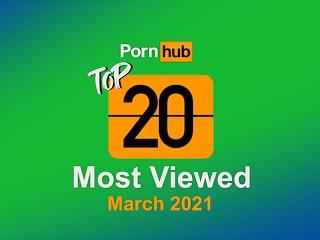 Most Viewed Videos of March 2021 - Pornhub Model Program
