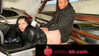 One night stand at a parking lot- AnastasiaXXX! Amateur66