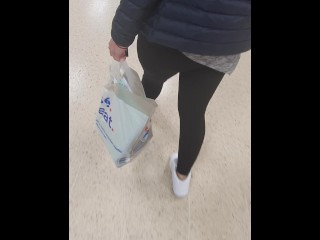 Lesbian step mom tits flash in public supermarket get fucked by step son