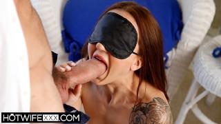 HotwifeXXX - Shared Married Tiny Tit BDSM Kendra Cole Deepthroat