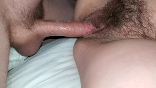 Extremely Hairy Pussy Fuck