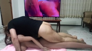 Perfect fuck on the floor