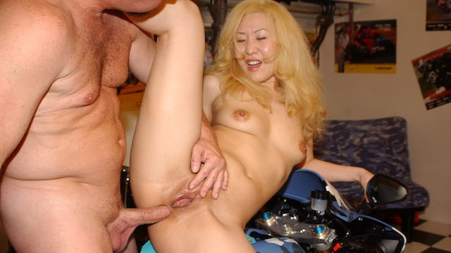 Asian Anal Fucked by Original MILF Hunter