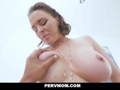 Busty Stepmom Krissy Lynn Takes Her Stepson's Hot Load