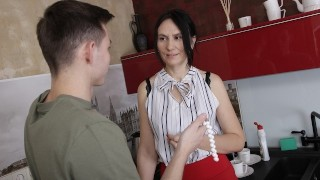SHAME4K Mature bombshell steals a necklace and gets fucked for it