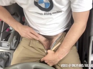 Sex gay stud cruising in the park with...
