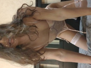 Asian sissy shemale ladyboy playing and acting on...