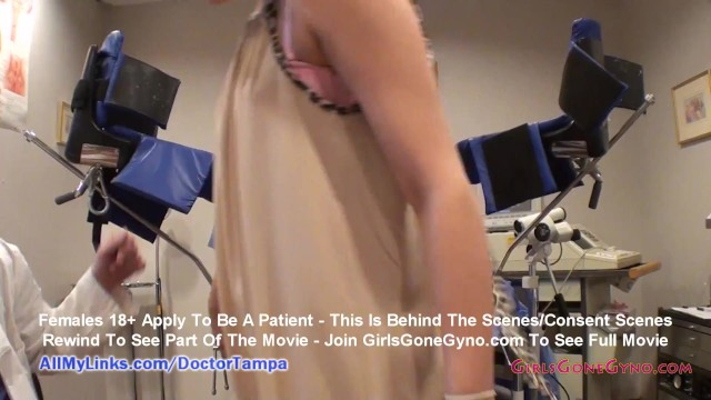 Alexandria Rileys New Student Physical By Doctor Tampa & Nurse Lilith Rose GirlsGoneGynoCom 7