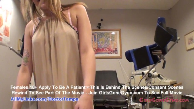 Alexandria Rileys New Student Physical By Doctor Tampa & Nurse Lilith Rose GirlsGoneGynoCom 42