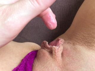Incredible orgasm of panties incredible girl...