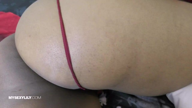 Tamil Maid Clean Shaved Pussy With Big Ass Hole 7