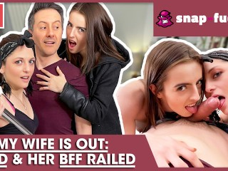 Cheating threesome with maid bff...