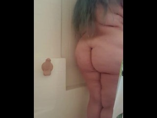 Bbw bathroom...