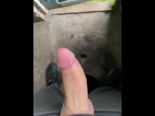 The off morning dick village toilet moans loudly...