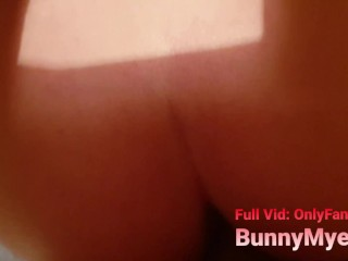 DADDY CUFFED & BLINDFOLDED Teen Stepdaughter! Gives HUGE MESSY Facial!